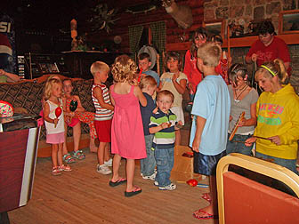 Children Gathering at Northland Lodge
