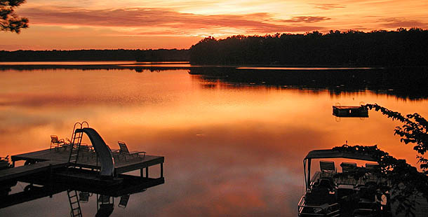 Sunset View at Quiet Lakes