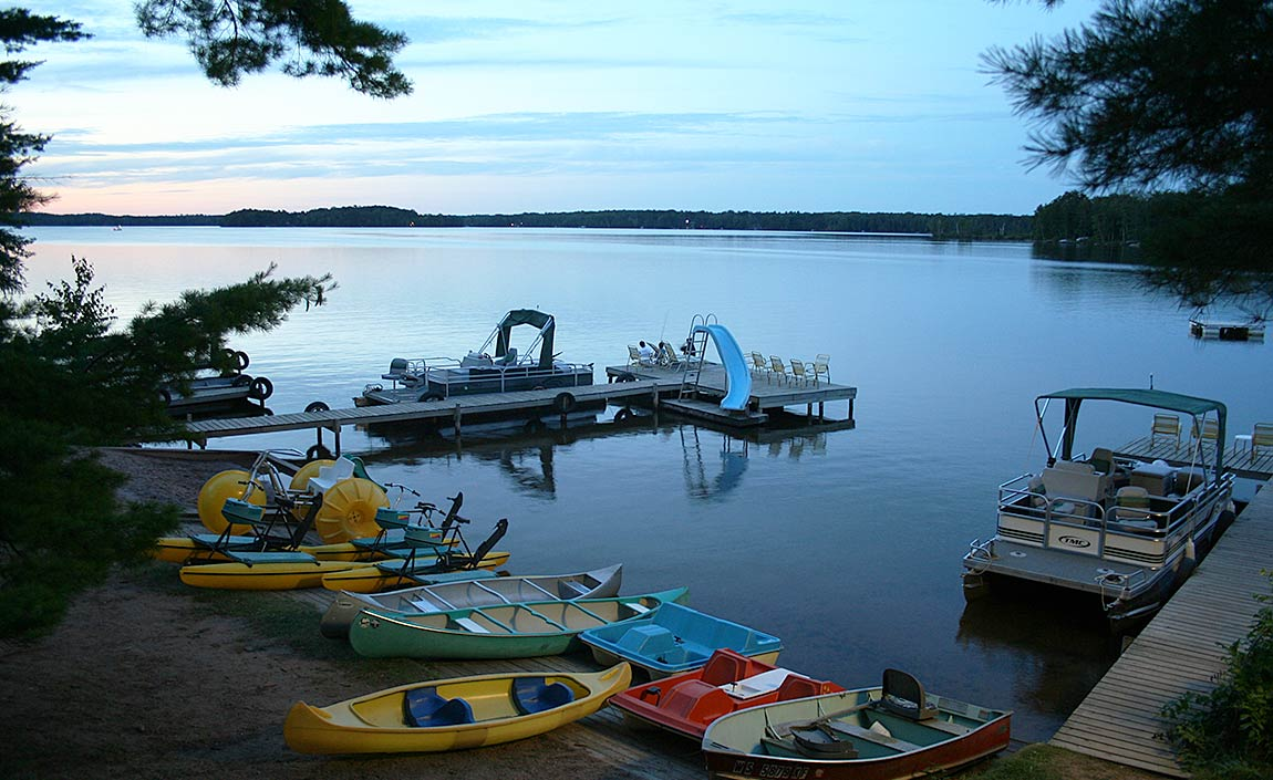 Photo of boats and canoes